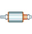 Electric motor rotor vector image