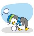 little penguin 2 vector image