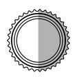 banner sticker elemen shadow vector image