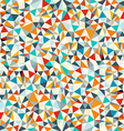 Abstract Retro Triangles Background vector image