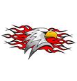 bird cartoon mascot vector image