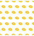 seamless pattern summer beach frisbee background vector image