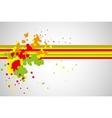 splash pattern vector image
