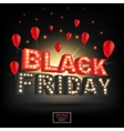 Abstract 2016 Black Friday inscription For vector image