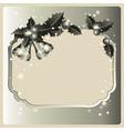 festive frame vector image