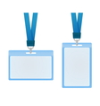 Id cards vector image