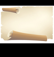 old paper banner vector image vector image