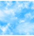 Cloud fluff vector image vector image