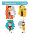 Home Repair Man vector image vector image