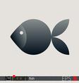 Fish Icon Logo vector image