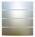 Abstract unfocused natural headers blurred design vector image