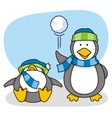 little penguin 5 vector image