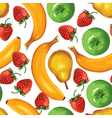 fruit mix vector image