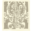 Mayan Carvings vector image vector image