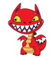 Little dragon vector image