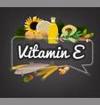 vitamin banner image vector image