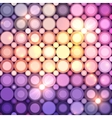 Abstract circle lights background vector image vector image