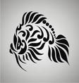 Tribal Goldfish vector image vector image