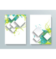 brochure flyer magazine cover poster template vector image vector image