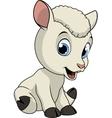 Little funny lamb vector image