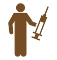 Drug Dealer icon from Business Bicolor Set vector image