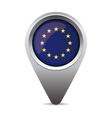 EU flag pointer vector image