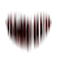 heart decorative vector image