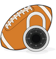 football lockout vector image
