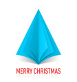 MERRY CHRISTMAS Corner paper 23 vector image