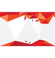 Background Triangle Red vector image