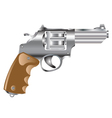 Weapon revolver vector image