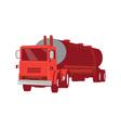 Tanker Cement Truck Retro vector image vector image