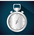 Timer clock icon design vector image