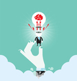 Business idea connection concept vector image