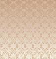 floral design beige seamless vector image vector image