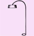 floor lamp vector image