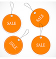 Price and sale tags vector image vector image