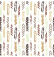Cute decorative seamless pattern with cereals vector image
