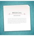 Aquamarine Medical Background vector image