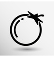 Simple Tomato symbol icon useful for logo vector image