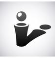 logo for letter I Design template vector image