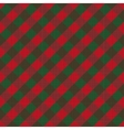Seamless checked background vector image