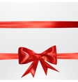 Abstract surprice background with bow vector image