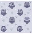 owl wallpaper 2 vector image