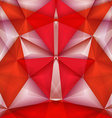 Abstract geometrical samurai vector image