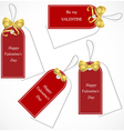 Discount tags vector image vector image