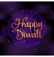 Beautiful greeting card for Hindu community Happy vector image