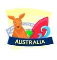 Australia concept design vector image