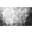 Abstract polygon background vector image