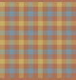brown beige check tablecloth seamless pattern vector image